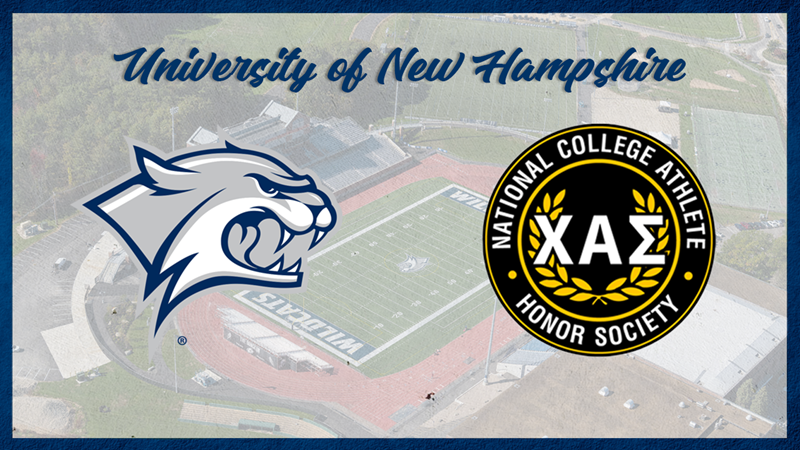 UNH Inducts 43 into National College Honor Society - University of New Hampshire Athletics